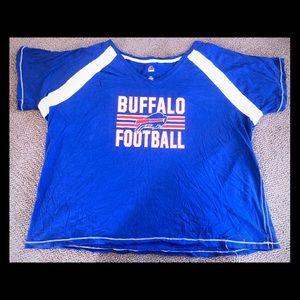 Buffalo Bills NFL Women's Sz 4X Majestic Shirt